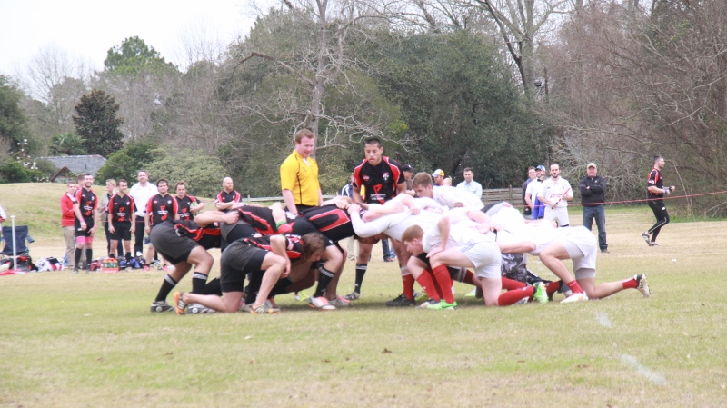 Jackson Rugby at Baton Rouge Rugby, February 21, 2015