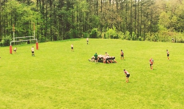 Nashville Rugby vs. Knoxville Rugby; courtesy of Nashville Rugby Club
