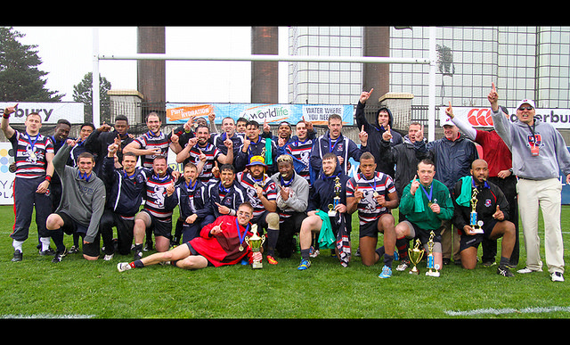 New England College, the Champions Cup Champs; courtesy of Jeannie Fellclano