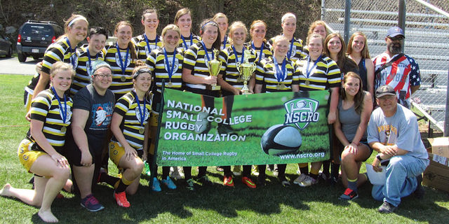 Wayne State College, 2014-15 Women's 7's National Champs; Courtesy of Jeannie Fellaciao