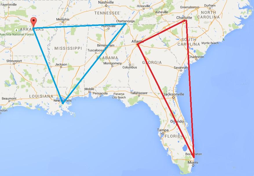 Potential map of D1 teams1