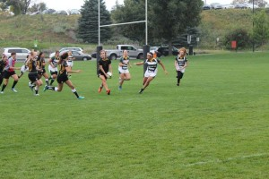 Werder looks for the offload. Photo Courtesy of Alex Imhoff