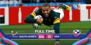 USA vs SA RWC