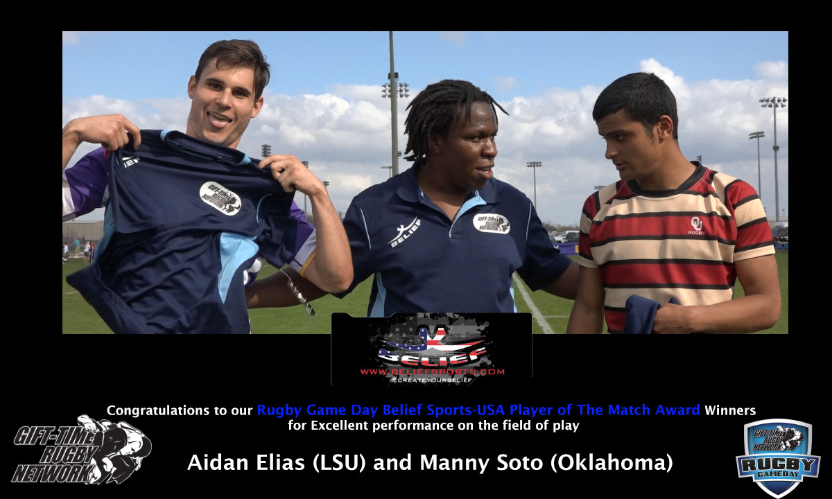 LSU vs. OU - Belief Sports USA  Players of the Match