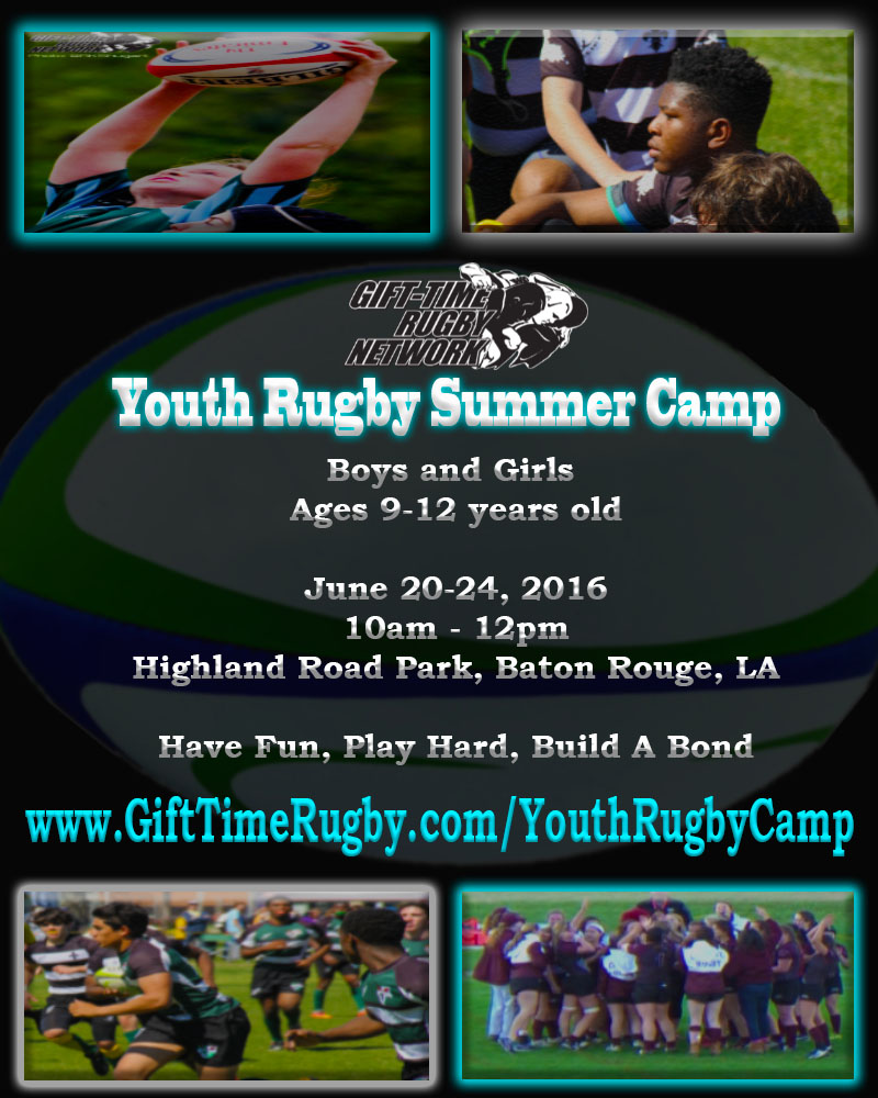 2016 Youth Rugby Camp #6