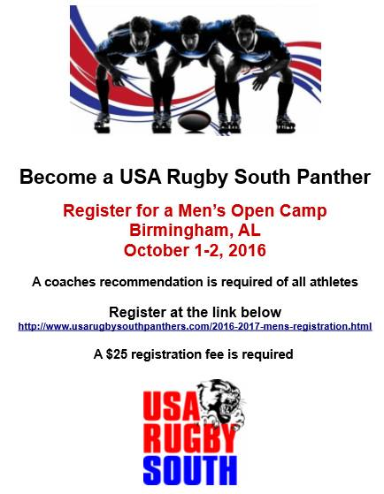 USA South Panthers try outs